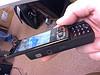 N95 left side view speaker and audio jack