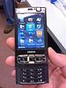 N95 Basic Menu itemskeypad slider open