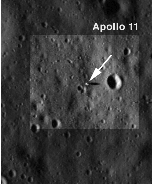 Nasa Imagery - LRO images of Apollo 11 Landing Mosule